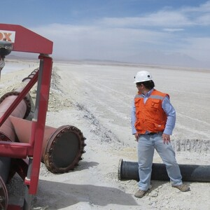 PROJECT 20 - Chuquicamata Copper Mine in Chile - Construction of slurry transport systems