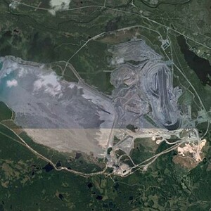 PROJECT 14 - Aitik in Sweden - Aerial view 2014 (Photo Copyright to Google Earth)