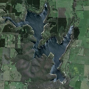 PROJECT 11 - Central Highlands Water - Bungal Dam (Photo Copyright to Google Earth)
