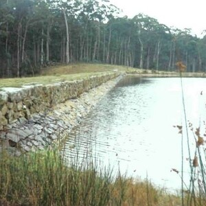 PROJECT 11 - Central Highlands Water - Bullarto dam stone work