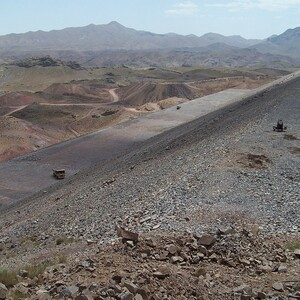 PROJECT 21 - Sar Cheshmeh Mine in Iran - During construction