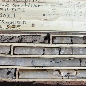 PROJECT 21 - Sar Cheshmeh Mine in Iran - Core samples