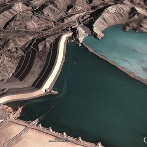 PROJECT 21 - Sar Cheshmeh Mine in Iran - Aerial view (Photo Copyright to Google Earth)