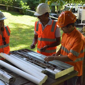 PROJECT 19 - Soil Testing - Geotechnical core sampling