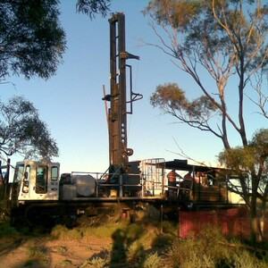 PROJECT 03 - WRP Mine in Ouyen - Geotechnical testing using drill rig