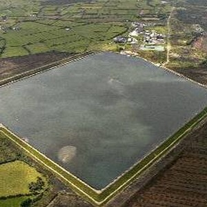 PROJECT 04 - Lisheen Mine in Tipperary Ireland - Tailings dam overview