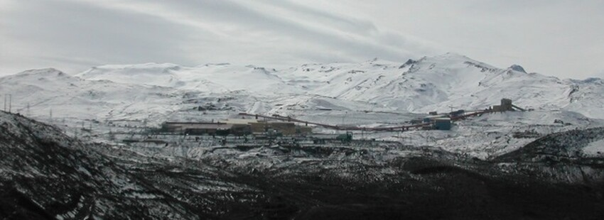 PROJECT 13 - Andina Mine in Chile - Difficult winter conditions