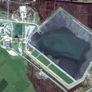 PROJECT 04 - Lisheen Mine in Tipperary Ireland - Aerial view from 2012 (Photo Copyright to Google Earth)