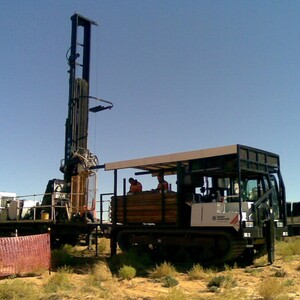 PROJECT 03 - WRP Mine in Ouyen - Drilling as part of geotechnical testing