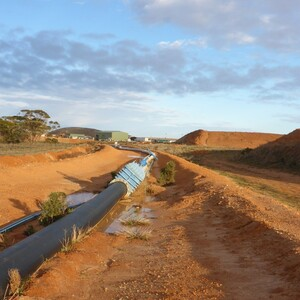 PROJECT 03 - WRP Mine in Ouyen - Site works