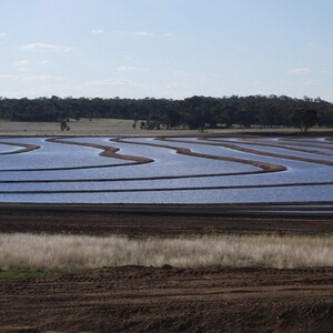 PROJECT 09 - Bendigo Mine Water Evaporation Ponds - In operation