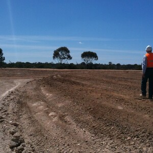 PROJECT 09 - Bendigo Mine Water Evaporation Ponds - Construction phase