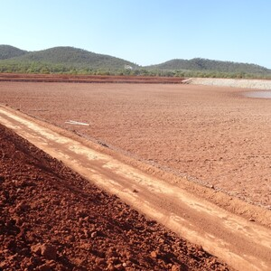 PROJECT 17 - Pajingo Gold Mine - Tailings dam during construction phase