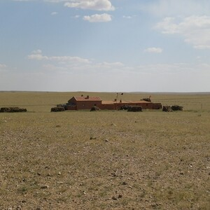 PROJECT 02 - Beyinhar Gold Mine in Inner Mongolia - Existing building at the site