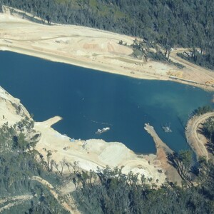 PROJECT 01 - Benambra Mine Rehabilitation - Aerial view