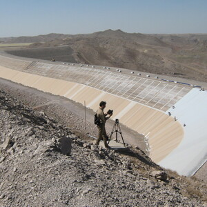 PROJECT 21 - Sar Cheshmeh Mine in Iran - Tailings dam construction phase