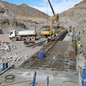 PROJECT 23 - Shur River Dam, Sar Cheshmeh Mine in Iran - Construction phase