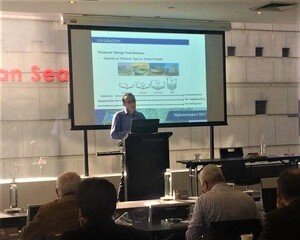 Enews August 2017 Sadegh Javadi Presenting At The Hydrotransport Conference